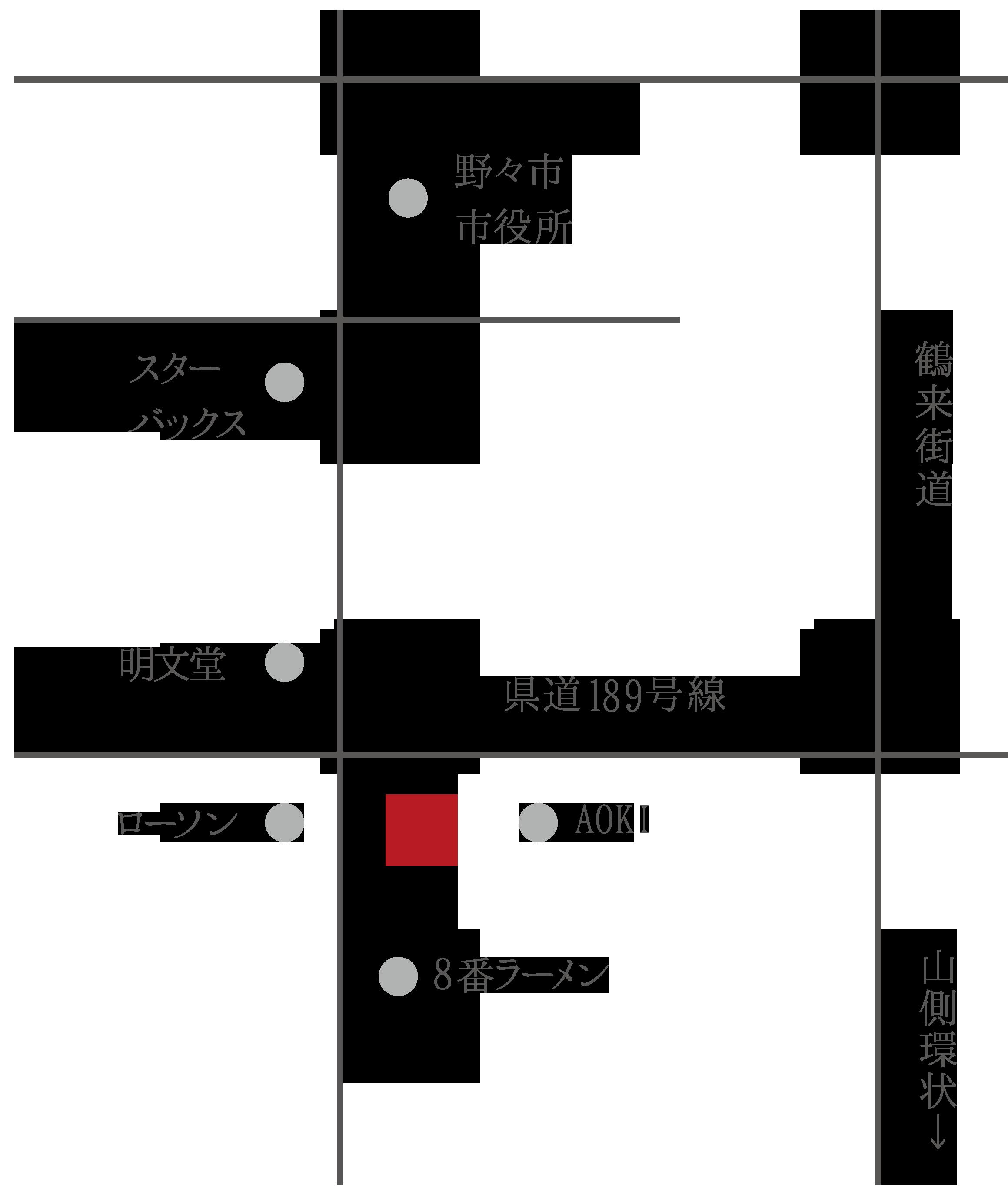 野々市店の地図